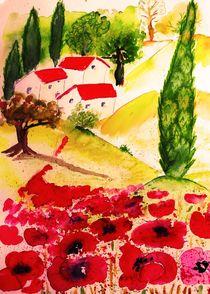 tuscan summer  von Maria-Anna  Ziehr