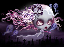 Ghostly Luna by Sandra Vargas