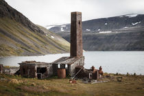 Alte Fischfabrik, Hesteyri, Island von Jan Schuler