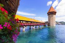 Kapellbrücke Luzern by Jan Schuler