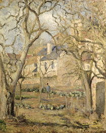 The Vegetable Garden by Camille Pissarro