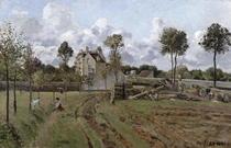 Pontoise Landscape von Camille Pissarro