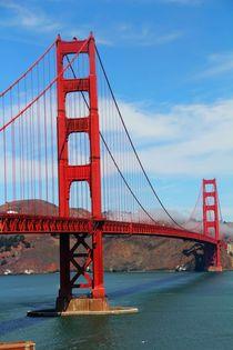 Die Golden Gate Bridge aus der Nähe (San Francisco) von ann-foto