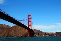 Die Golden Gate Bridge vom Fluss (San Francisco) von ann-foto