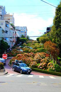 Lombard Street, die Kurvenstraße San Franciscos by ann-foto