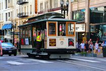 Nostalgische Cable Car in San Francisco by ann-foto