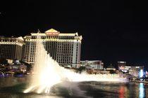 Die Magie der Fontänen Bellagio Hotel Las Vegas by ann-foto