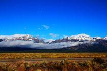 Die morgendlichen Wolken über den Rocky Mountains by ann-foto