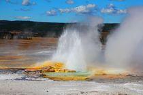 Die Erde bricht auf ... Yellowstone von ann-foto