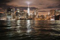 Der Leuchtende Friedensturm von New York by ann-foto