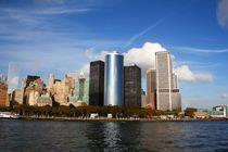 New York Skyline Big Apple vom Hudson River von ann-foto