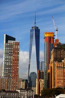 Die Größe des Friedensturm New York Skyline Big Apple by ann-foto