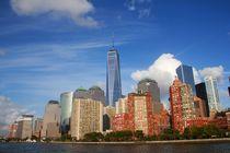 New Yorks Skyline bei Sonnenschein von ann-foto
