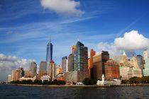 Wolken über New York von ann-foto