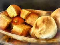Cornbread and Rolls von Susan Savad