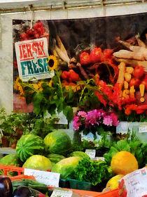 Farmer's Market Stand by Susan Savad