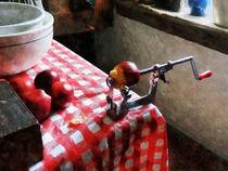 Apples and Apple Peeler by Susan Savad