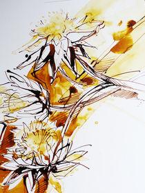 Artischocken im Herbst von Heike Jäschke