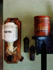 Coffee Can and Coffee Grinder by Susan Savad