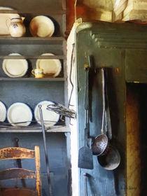 Ladles and Spatula in Kitchen von Susan Savad