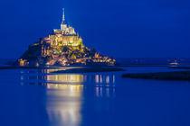 Le Mont Saint Michel by Moritz Wicklein