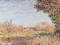 September Morning von Alfred Sisley