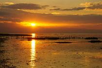 Sonnenuntergang am Wattenmeer von Markus Hartung