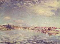 Saint-Mammes von Alfred Sisley
