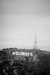 Das hohe Hollywood Sign in Los Angeles by ann-foto