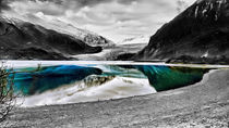 Reflection of Mendenhall Glacier by Amber D Hathaway Photography