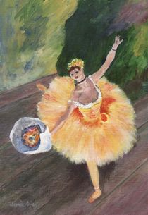 Degas Ballerina von Jamie Frier