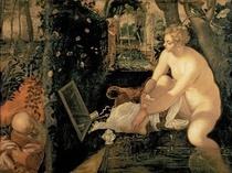 Susanna Bathing by Jacopo Robusti Tintoretto