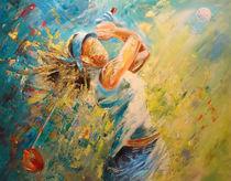 Golf Passion von Miki de Goodaboom