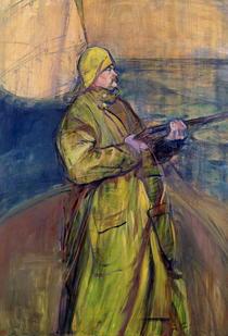 Portrait of Monsieur Maurice Joyant by Henri de Toulouse-Lautrec