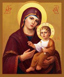 Jungfrau und Kind – Jesus und Maria von Svitozar Nenyuk