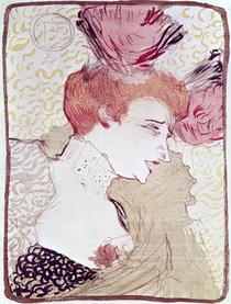 Portrait of Marcelle Lendor von Henri de Toulouse-Lautrec