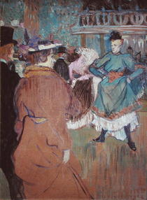 Quadrille at the Moulin Rouge von Henri de Toulouse-Lautrec
