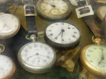 Vintage Pocket Watches by Susan Savad