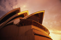 Sydney Opera House Sunset by David Halperin
