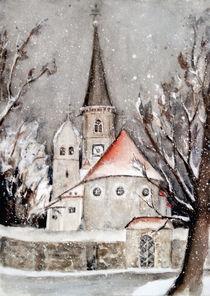 'Aigen am Inn -Wallfahrtskirche St.Leonhard' von Chris Berger