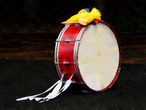 Bass Drum at Parade by Susan Savad