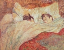 The Bed von Henri de Toulouse-Lautrec