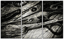 Wood Utensils Triptych von John Williams