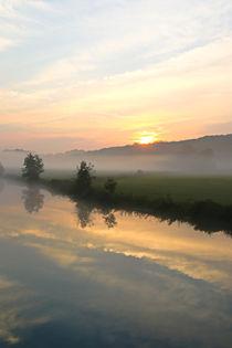 Kurz vor dem Sonnenaufgang by Bernhard Kaiser