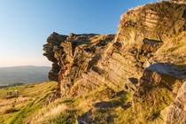 Wingdgather Rocks in the UK Peak District  by Chris Warham