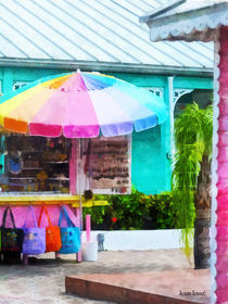Souvenir Stand Port Lucaya Marketplace von Susan Savad