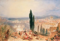 Florence from near San Miniato by Joseph Mallord William Turner