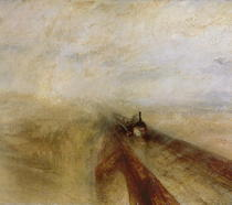 Rain Steam and Speed, The Great Western Railway von Joseph Mallord William Turner