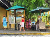 Art Show in San Juan by Susan Savad