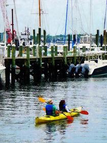 Kayaking in Newport RI von Susan Savad